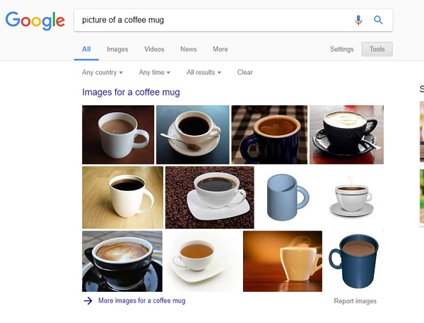 picture of a coffee mug