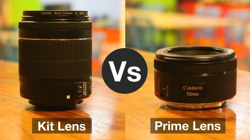 difference between Kit lens and Prime lens