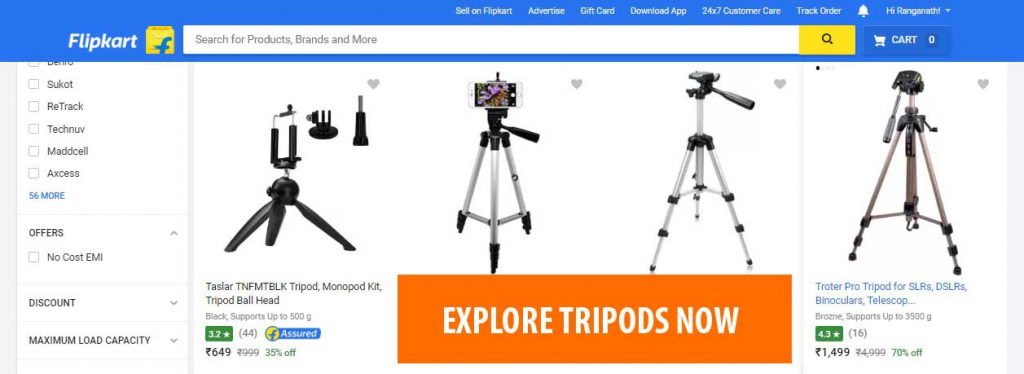 best tripods in india