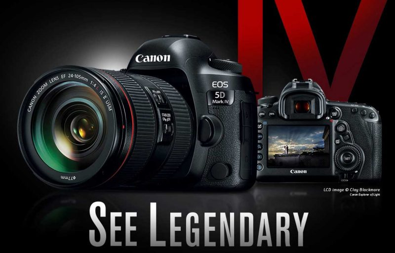 canon 5d mark 4 dslr camera