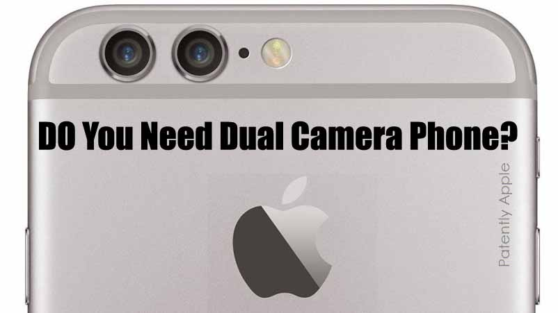 Difference Between a Dual Camera Phone and a Single Camera Phone