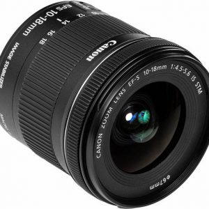Canon EF-S 10 - 18 mm f/4.5 - 5.6 IS STM Lens