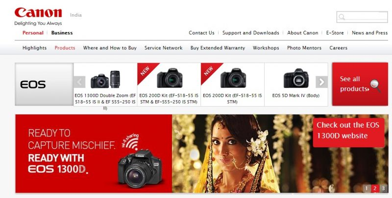latest Canon Dslr Camera Price in India