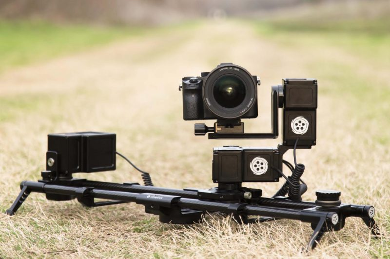 professional motorized camera slider and its types
