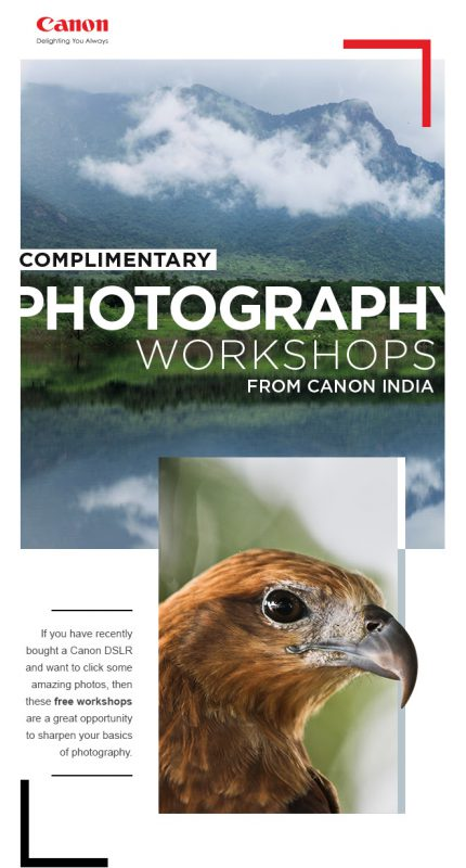 Free Photography Workshops in Bangalore