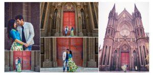 photoshoot at st philomena church