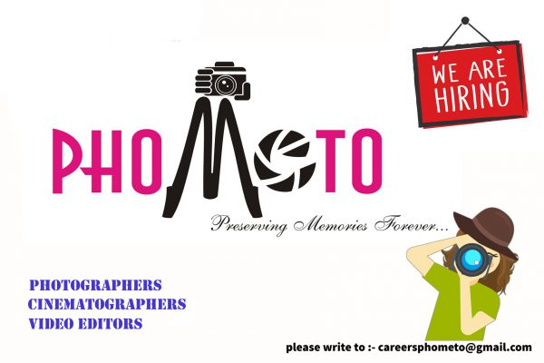 photography jobs in bangalore