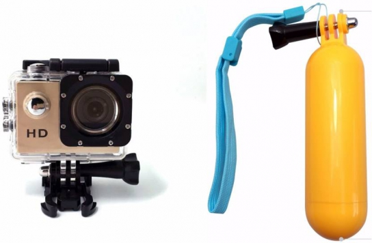 ZVR Powershot Go Pro 1080P Full HD Sports and Action Camera